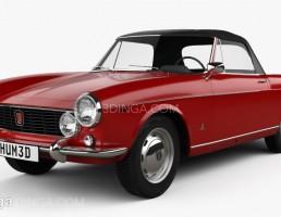 ماشین فیات 1600 سال 1963