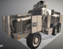 کامیون نظامی زرهی