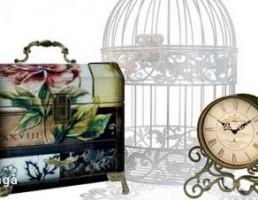 جعبه + قفس + ساعت رومیزی