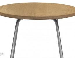 میز قهوه با سطح چوبی