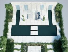مجموعه طراحی فضای سبز