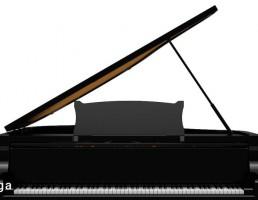 جعبه موسیقی پیانو