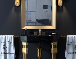 ست روشویی حمام کلاسیک