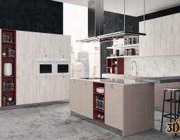 آشپزخانه مدرن با محصولات alvic