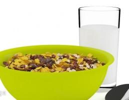 ظرف آجیل + قاشق + لیوان شیر