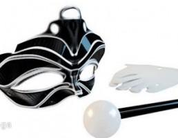 نقاب و دستکش هالووین
