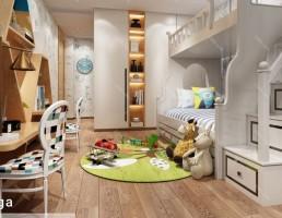 اتاق خواب کودک سبک اروپایی