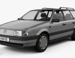 ماشین فلوکس واگن مدل B3 سال 1988