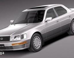 لکسوس مدل LS 400 سال 1989-1994