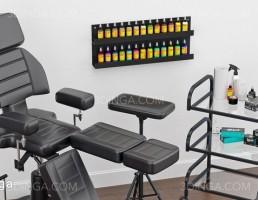صندلی + ترالی + وسایل آرایشگاه