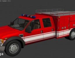 کامیون دیزلی فورد مدل F550 XLT