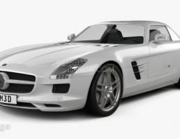 ماشین مرسدس بنز مدل SLS AMG سال 2011