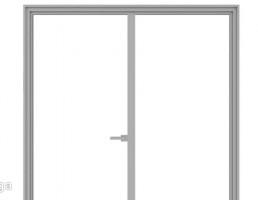 درب دوتایی  ورودی