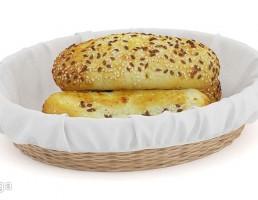 سبد + نان ساندویچ