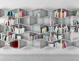 قفسه کتاب (کتابخانه)