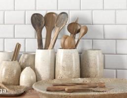 ست قاشق چوبی آشپزخانه