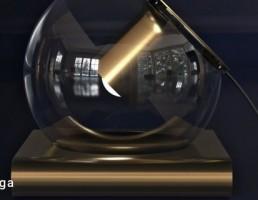 مدل سه بعدی لامپ رومیزی