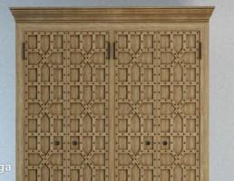 کمد چوبی کلاسیک