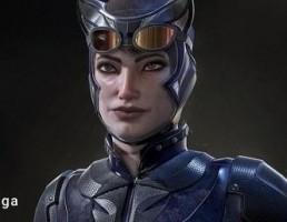 کاراکتر زن گربه نما- Catwoman Reborn