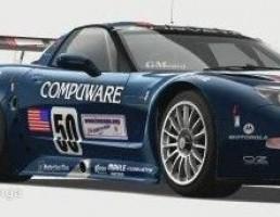 ماشین شورلت مدل Corvette C5.R سال 2003