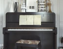 پیانو + وسایل موسیقی