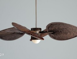 لامپ + پنکه سقفی