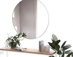 آینه + کنسول + گلدان