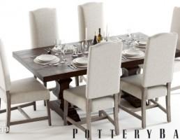 ست میز و صندلی نهارخوری + ظروف غذا