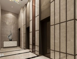 صحنه داخلی آسانسور هتل