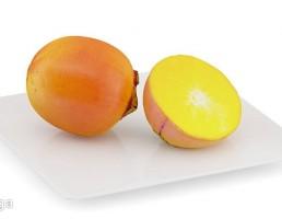 بشقاب + میوه خرمالو
