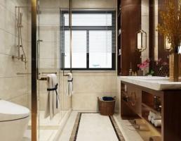 صحنه حمام سبک آسیای شرقی 4