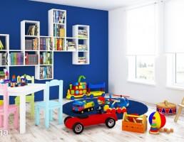 نمای داخلی اتاق کودک