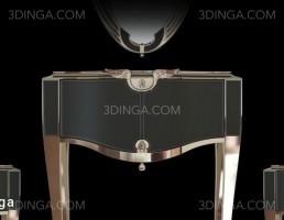 آینه + میز کنسول کلاسیک