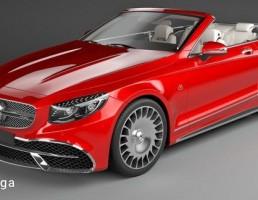 ماشین مرسدس مدل Maybach Coupe سال 2020