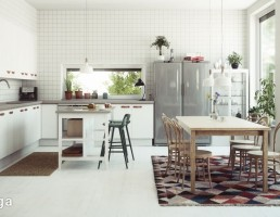 آشپزخانه سبک اسکاندیناوی