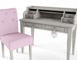 میز کنسول + صندلی
