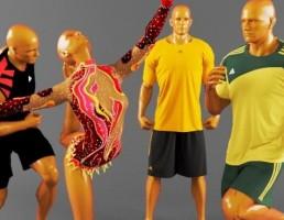 مجموعه لباس ورزشی