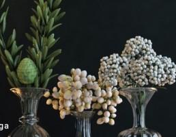 گلدان + شمعدان تزیینی