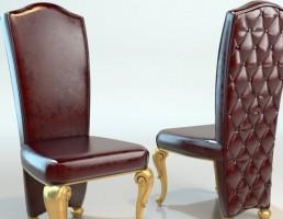 مدل صندلی کلاسیک چرمی